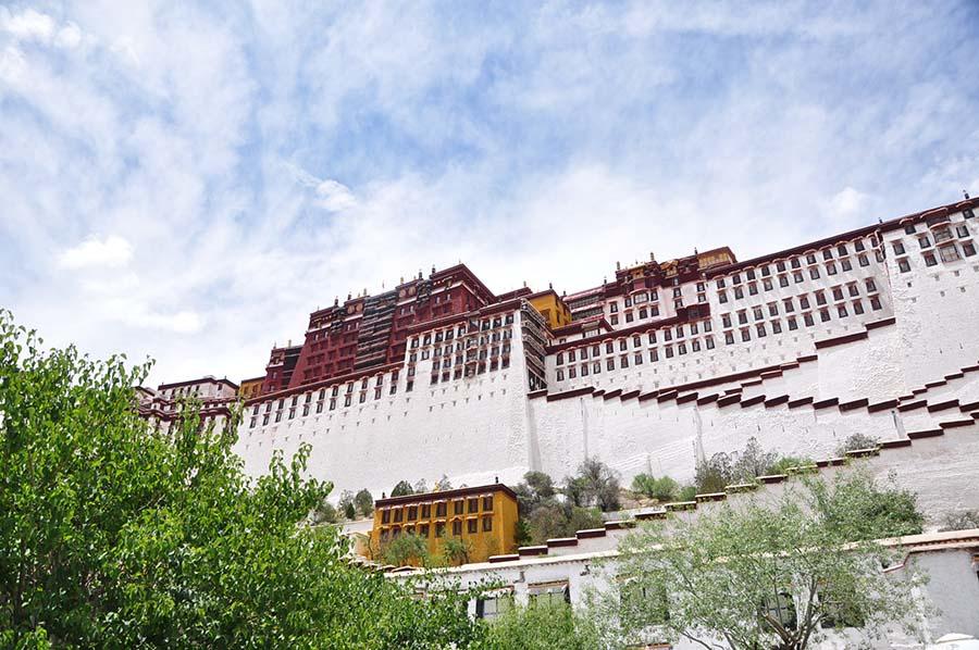 Palácio de Potala, um palácio no teto do mundo