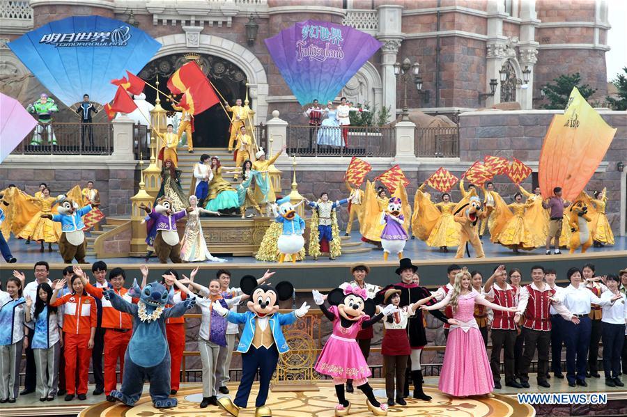 Disney inaugura seu primeiro parque na parte continental da China