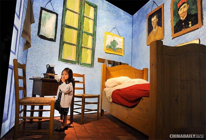 Beijing realiza exibição multimídia das obras de Van Gogh