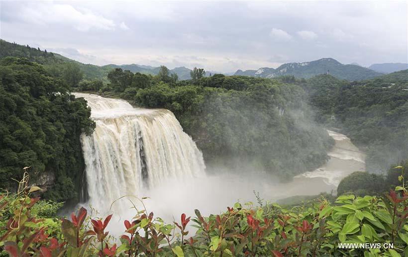 Galeria: Cachoeira Huangguoshu no sudoeste da China