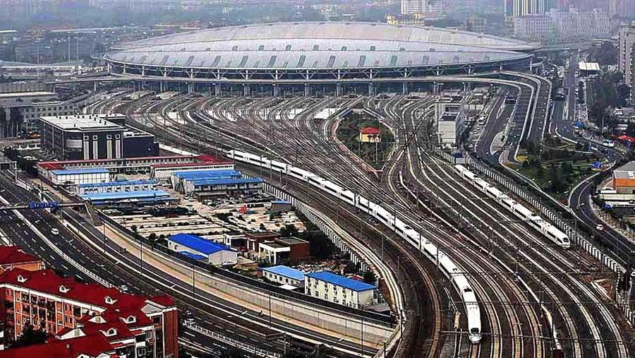 Resultado de imagem para rede ferroviaria da china