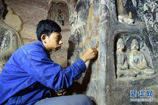 Grutas budistas será restaurada no noroeste da China