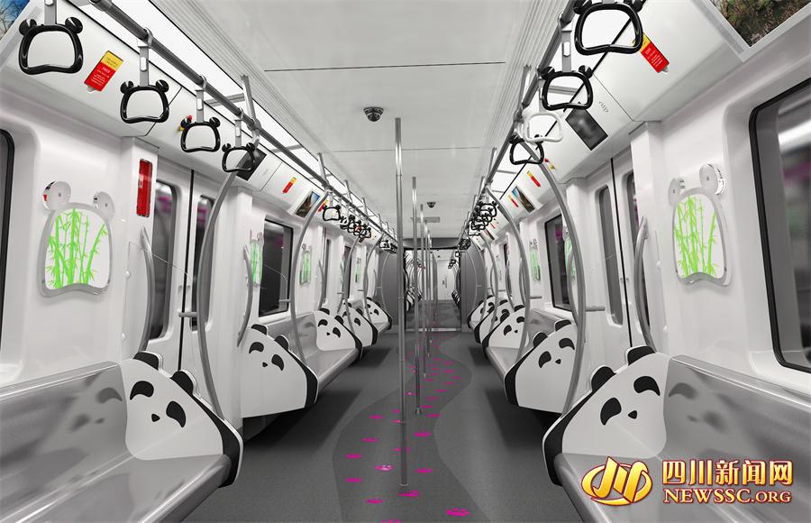 Cidade chinesa inaugurará linha de metrô para base de pandas