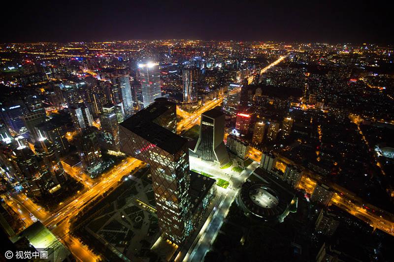 Os rostos por trás do edifício mais alto de Beijing
