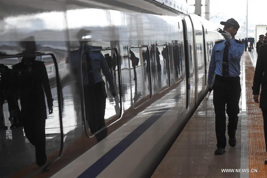 Inaugurada principal ferrovia de alta velocidade leste-oeste na China