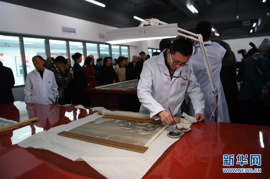 Oficina de conservação do Museu do Palácio permitirá visita pública