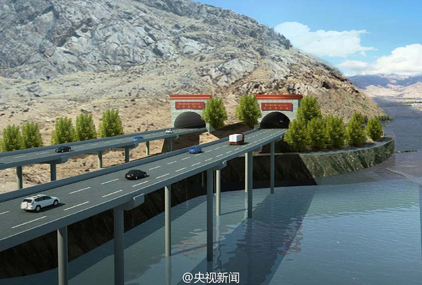 China está a construir estrada circular com maior altitude do mundo no Tibete
