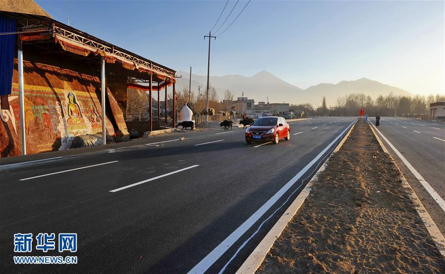 Concluída estrutura principal da estrada circular de Lhasa