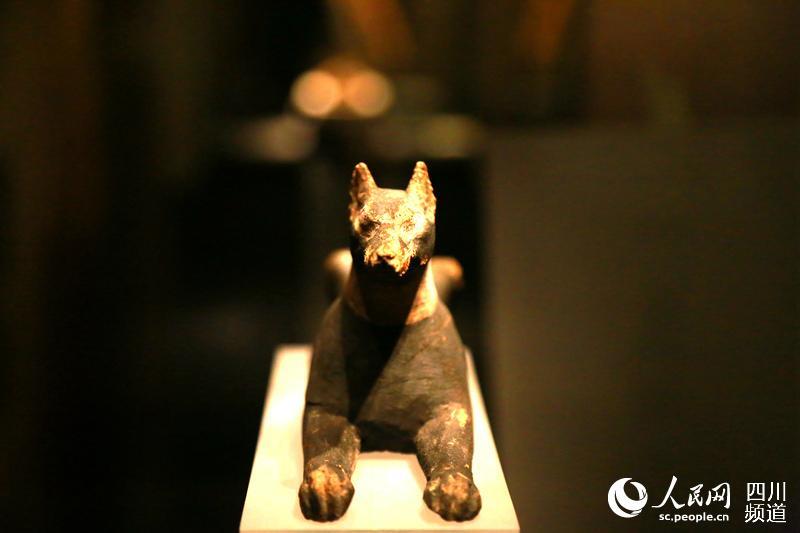 Relíquias egípcias expostas em Chengdu