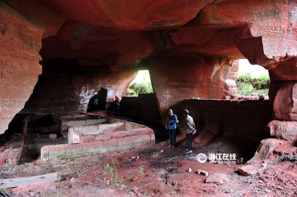 Grutas misteriosas encontradas no sudeste da China