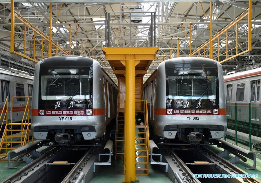 Linha Yanfang do metrô de Beijing será inaugurada até o final de 2017