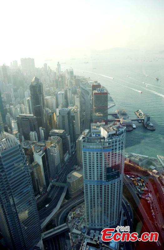 Hong Kong supera barreira dos 1300 arranha-céus