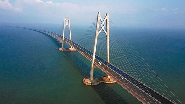 Pontes rodoviárias e ferroviárias de alta velocidade da China atingem novo recorde